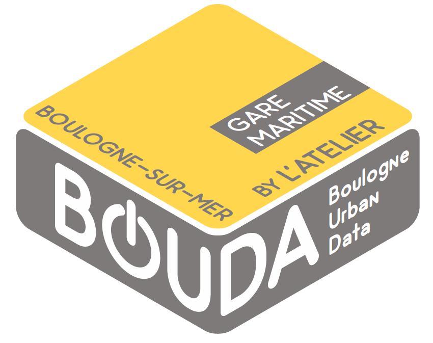 logo Bouda BOUDA bouda espace de coworking et de travail collaboratif ville de Boulogne sur mer étage de la Gare Maritime gare maritime