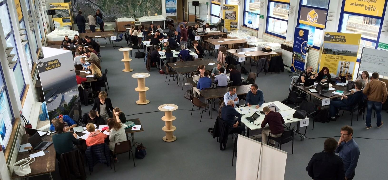 Hackathon Mers & Océans 2016